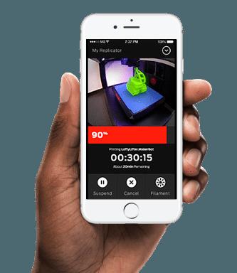 MakerBot Mobile Apps