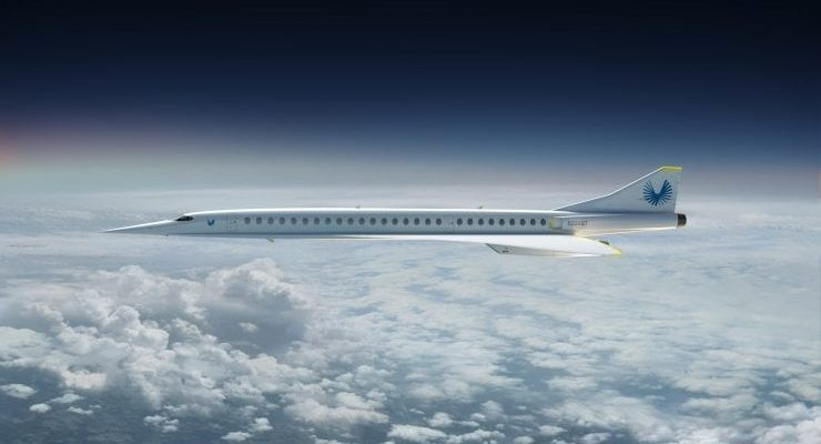 Boom Supersonic Stratasys 3D Printing Aerospace