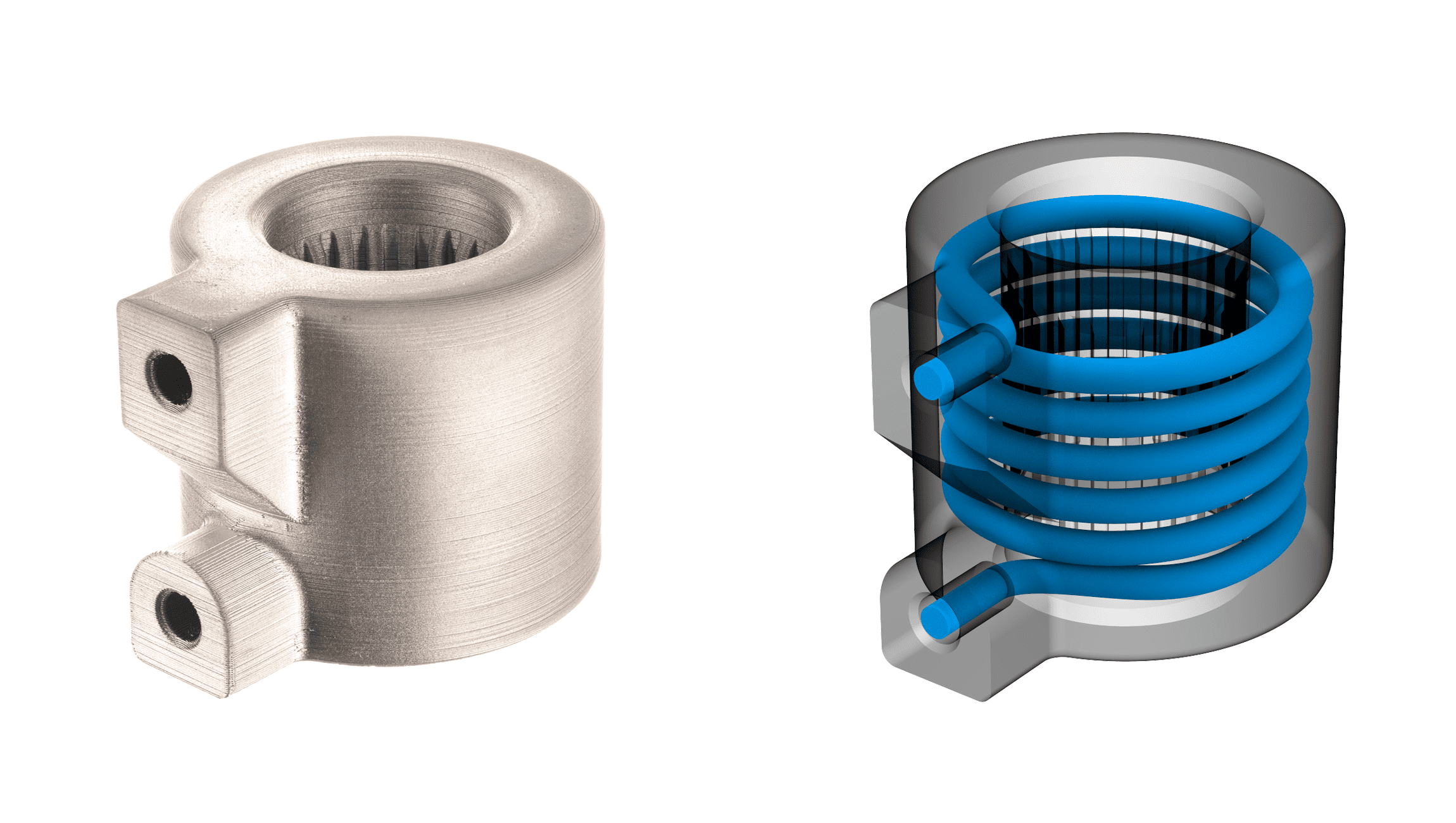 desktop metal 3D printing changes internal channels