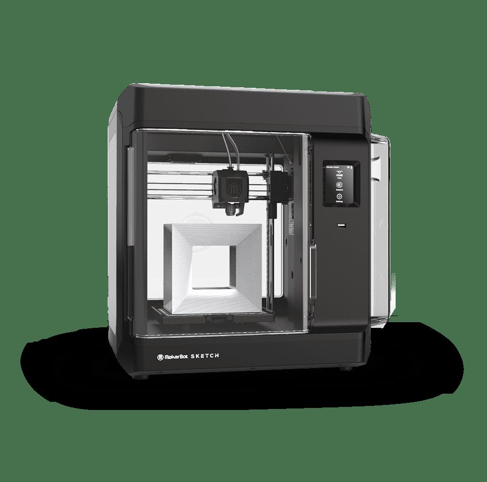 MakerBot Sketch Desktop 3D Printer for Education Featured